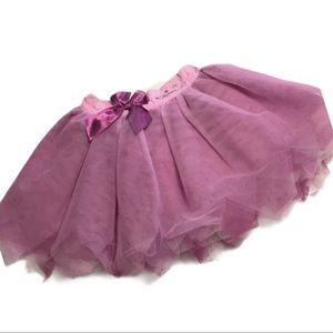 Disney pink fairies, purple tulle skirt 4 / 4T